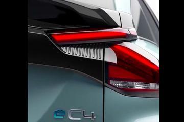 Citroën toont bijzondere achterkant ë-C4