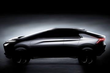 Mitsubishi e-Volution Concept beter in beeld