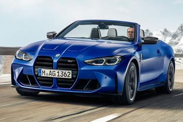 BMW M4 Cabrio: direct als Competition met M xDrive