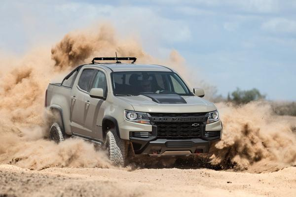 Chevrolet Colorado bijgewerkt