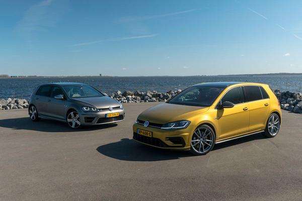 Video: Volkswagen Golf R vs. Volkswagen Golf R - Dubbeltest