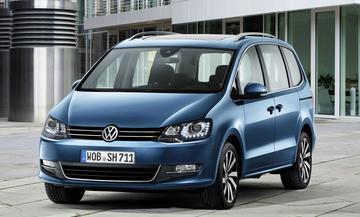 Volkswagen prijst gefacelifte Sharan