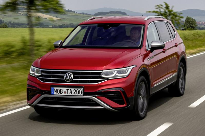 Volkswagen Tiguan Allpace facelift