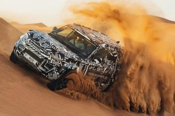 Land Rover verlengt samenwerking Rode Kruis