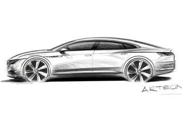 Volkswagen CC wordt Arteon