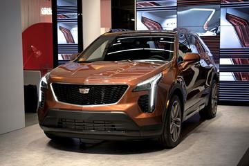 Cadillac XT4 schittert in New York