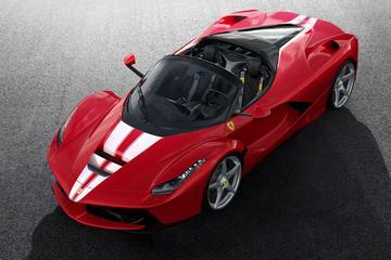 Laatste Ferrari LaFerrari geveild