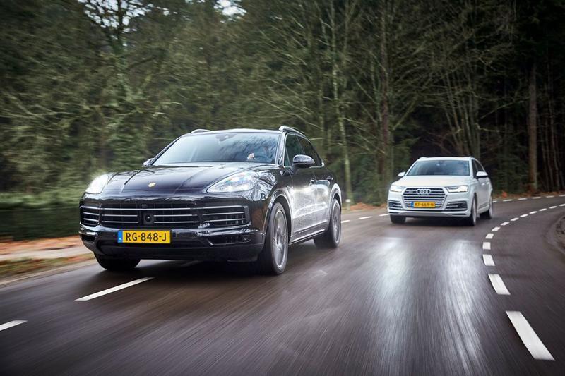 Audi SQ7 vs. Porsche Cayenne S - Dubbeltest