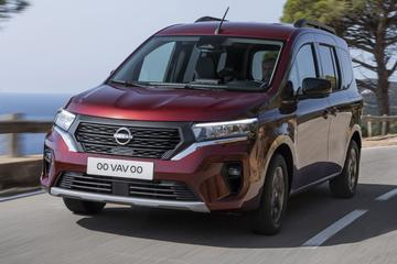 Nissan Townstar ook als Combi, alleen EV voor Nederland