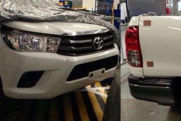 Gelekt: nieuwe Toyota Hilux