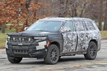 Gesnapt: nieuwe Jeep Grand Cherokee