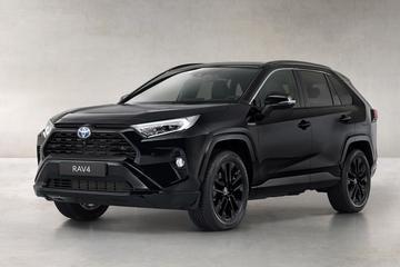 Toyota RAV4 Hybrid als sinistere Black Edition