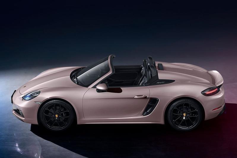 Porsche Boxster Spyder China