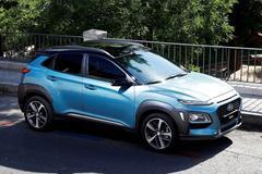 Elektrische Hyundai Kona in 2018