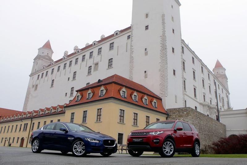 Jaguar Land Rover naar Slowakije