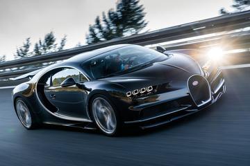 Snelheidsgrens Bugatti Chiron nog niet in zicht
