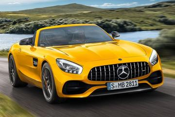 Mercedes-AMG GT S Roadster is los