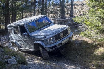 Mercedes-Benz laat G-klasse zelf zien