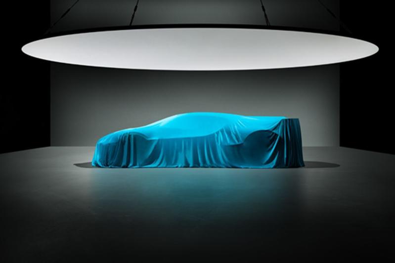 Bugatti Divo onder doek