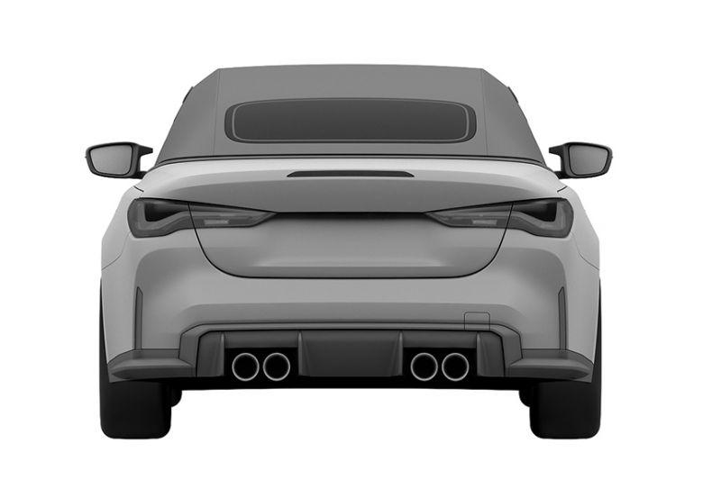 Patent BMW M4 Cabrio