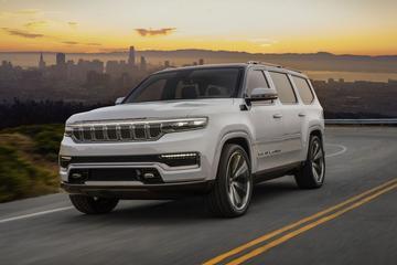 Jeep Grand Wagoneer Concept barst los
