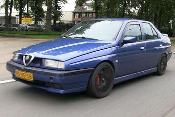 Klokje Rond - Alfa Romeo 155 (1997 - 435.920 km)