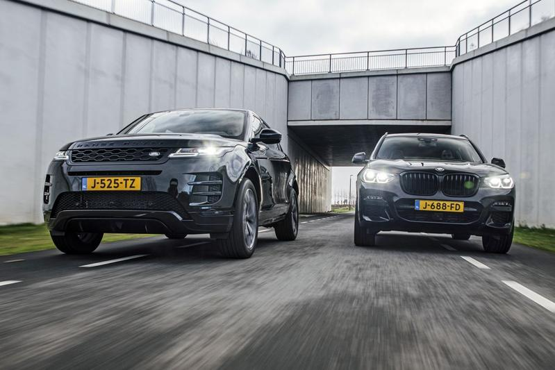 Test: Range Rover Evoque vs. BMW X3