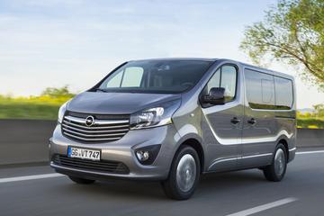 Nieuwe Opel Vivaro in 2019 op de weg