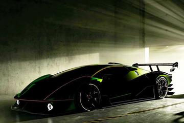 Lamborghini SCV12 in beeld