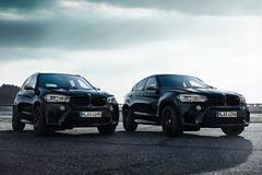 BMW X5 M en X6 M Black Fire Editions