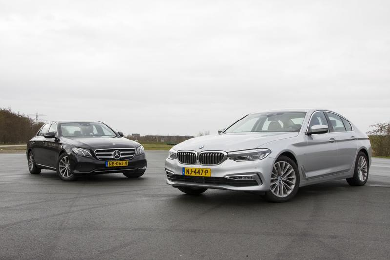 BMW 520d vs. Mercedes E 220d - Dubbeltest