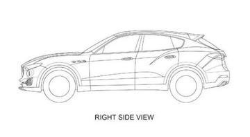 Patentschetsen Maserati Levante duiken op