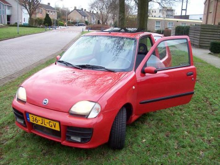 Fiat Seicento 1.1 Sporting Abarth (2002)