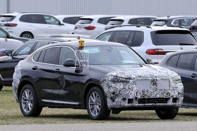 Spyshots BMW X4