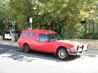 Ford Falcon 4.1 Panelvan (1985)