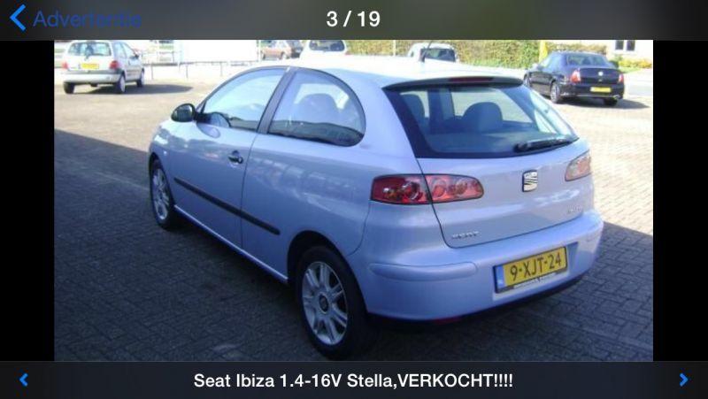 Seat Ibiza 1.4 16V 75pk Stella (2002)