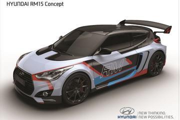 Hyundai RM15 Concept: scheurneus met middenmotor