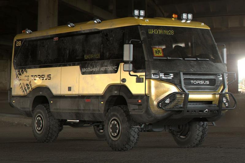 Torsus Preatorian schoolbus