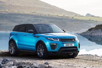 Land Rover past gamma Range Rover Evoque aan