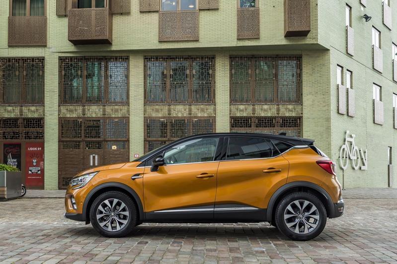 Renault Captur Nederlands kenteken