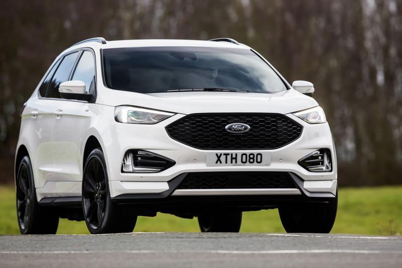 Facelift Ford Edge Europa