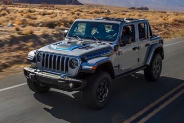 Jeep belicht plug-in hybride Wrangler 4xe