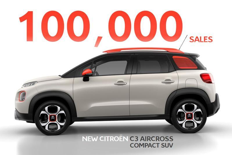 100.000e Citroën C3 Aircross een feit