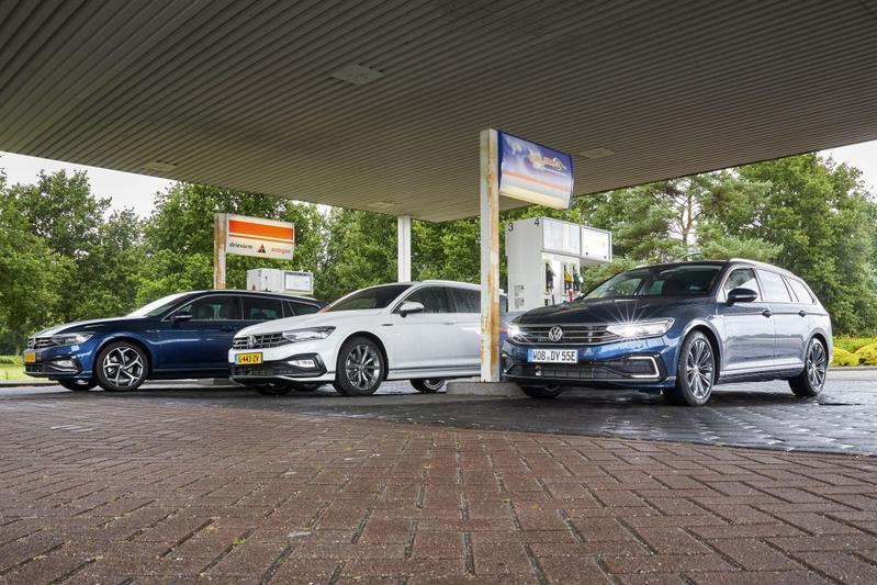 Volkswagen Passat TSI lpg, GTE en TDI - Triotest
