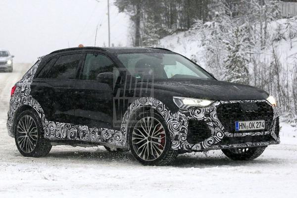 Sneeuwpret met de Audi RS Q3