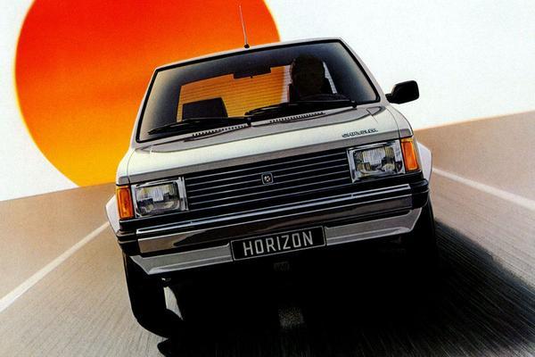 De Tweeling: Talbot/Plymouth Horizon – Dodge Omni
