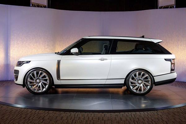 Range Rover SV Coupé lekt uit