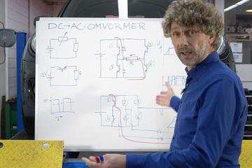 DC/AC-omvormer - Cornelis schetst