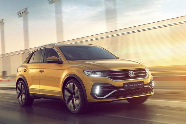 Volkswagen T-Rocstar gepresenteerd
