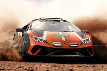 Verrassing: Lamborghini Huracán Sterrato Concept